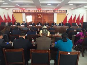 3月16日,柴旦镇第十四届人民代表大会第三次会议 召开